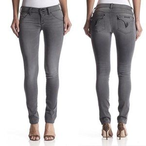Hudson Charcoal Grey Collin Skinny Jean